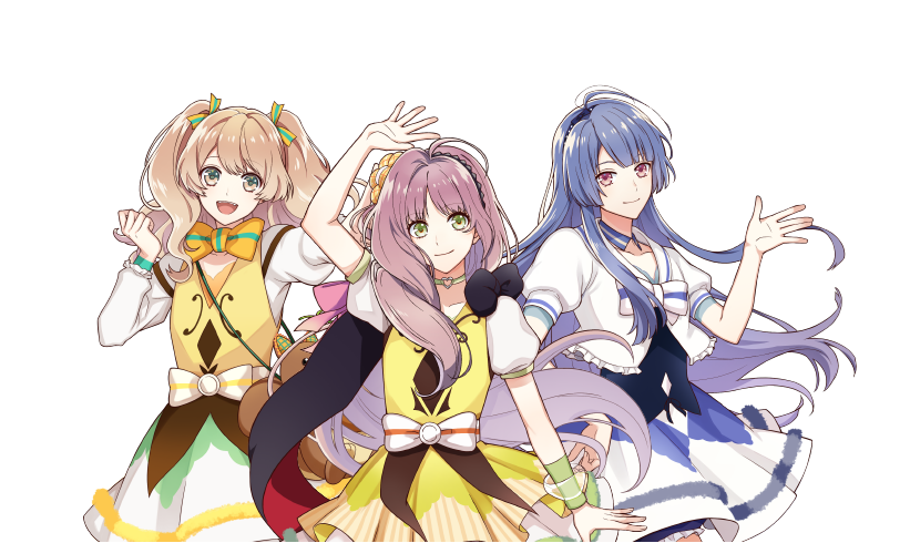 Revealing More Details I★CHU Étoile Stage Smartphone Game and Anime